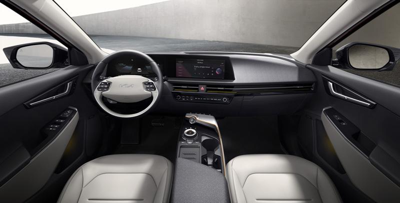 Kia EV6 SUV interior