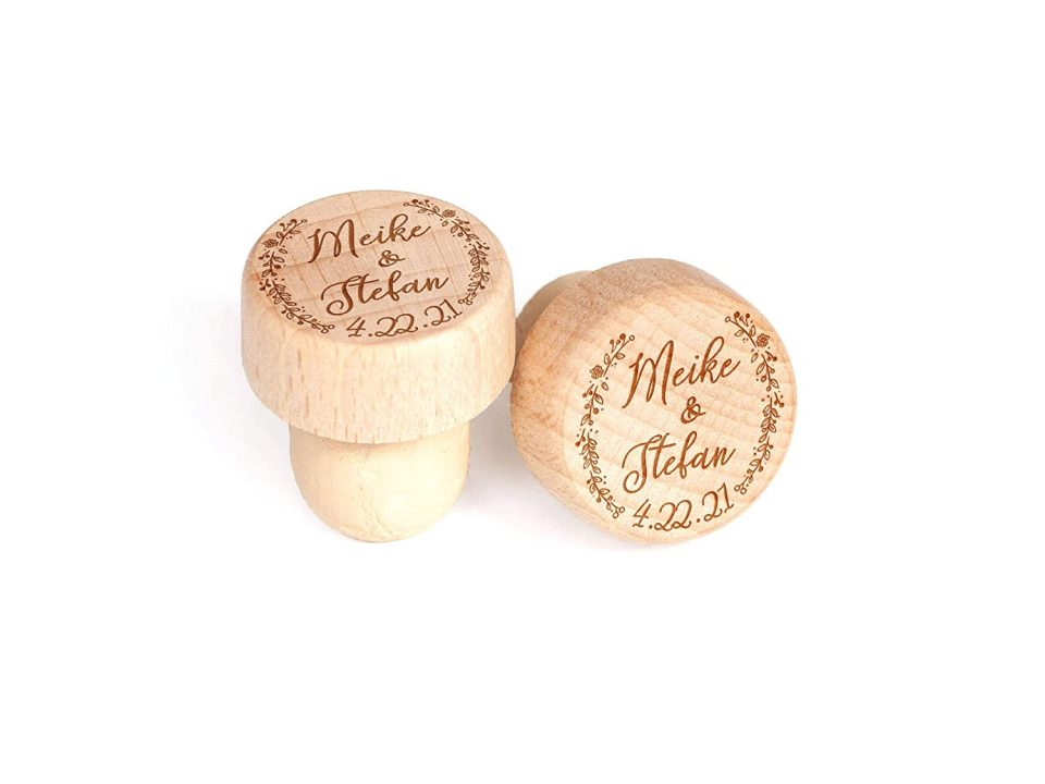 Handmade Mother's Day Gift - Personalized Bottle Stopper