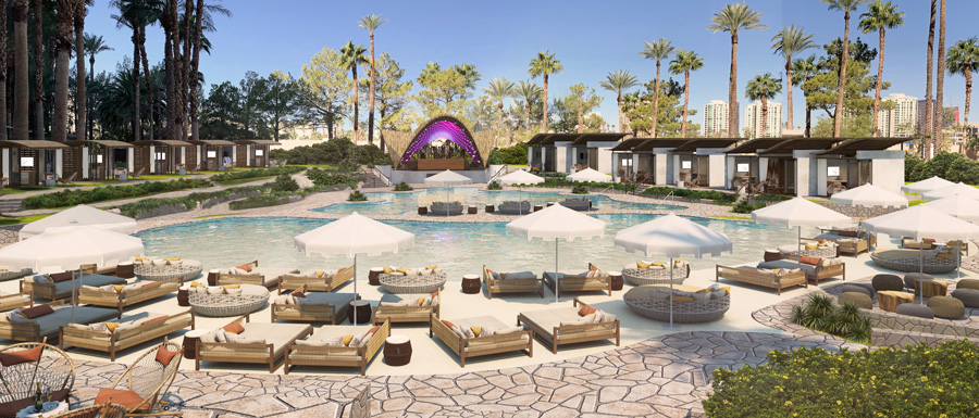 Virgin Hotels Las Vegas, Curio Collection by Hilton Day Club