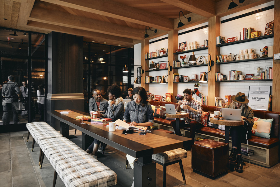 Virgin Hotels Las Vegas - Library and Coffee Shop