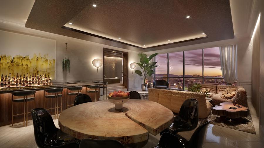 Richard's Flat Living Room