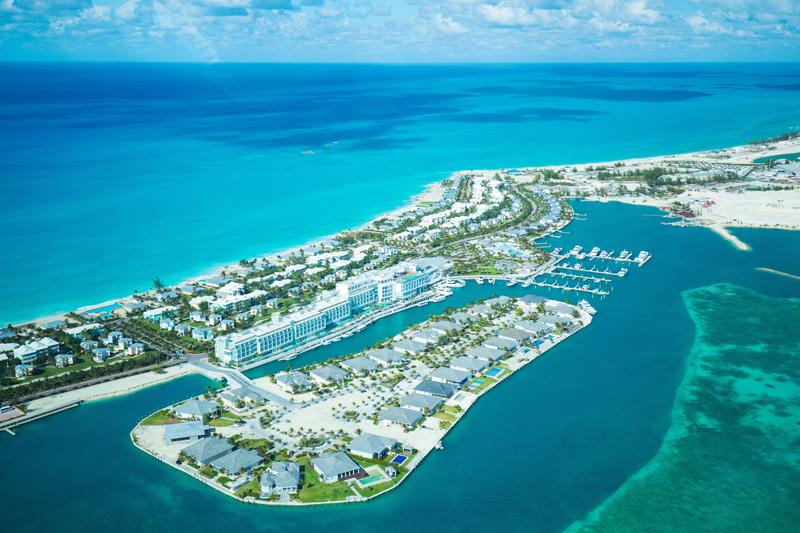 Bimini Bahamas Aerial view