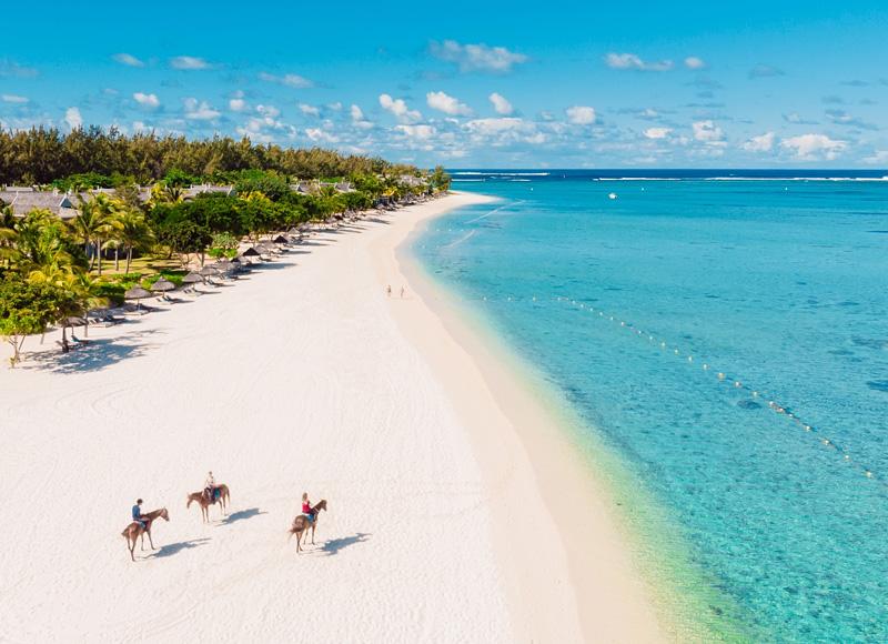 Harbourisland, Bahamas aerial view