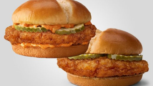 McDonald's New Crispy Chicken Sandwiches review - chicken wars