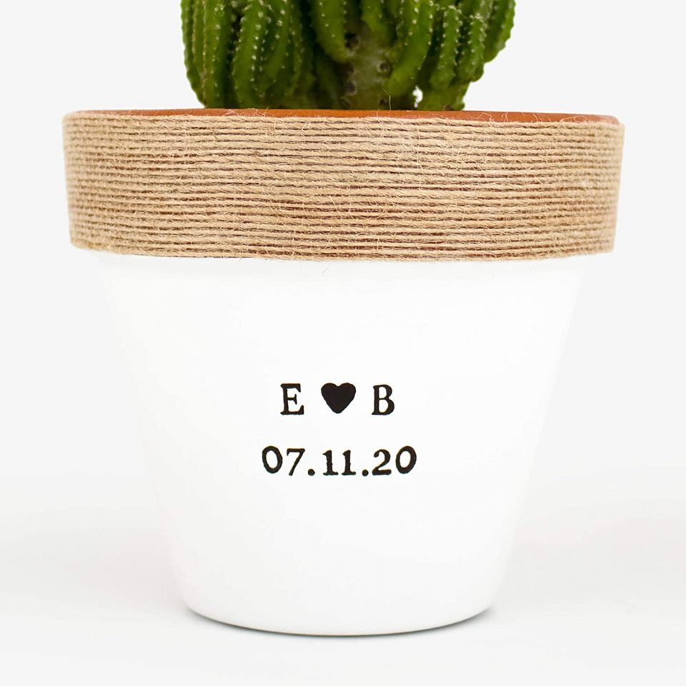 Personalized Indoor Planter