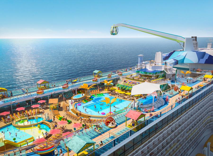 Royal Caribbean Odyssey of Seas Top Deck