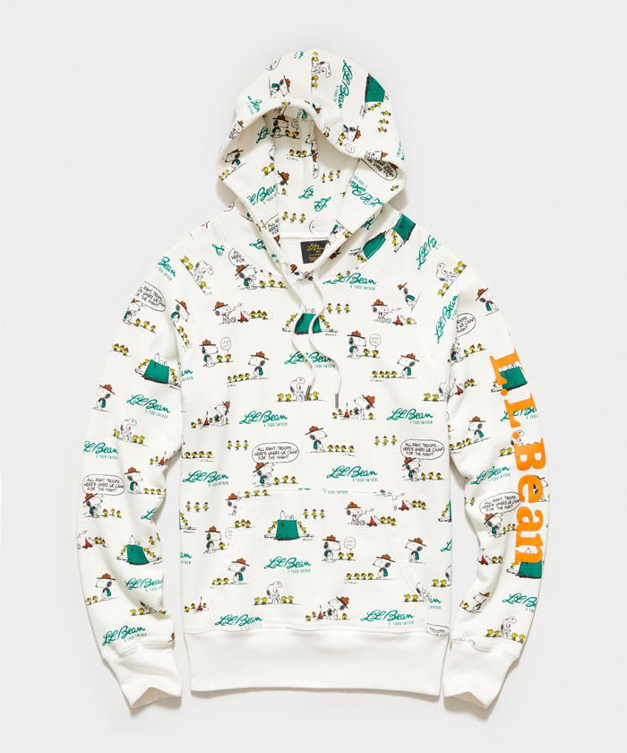Snoopy Hoodie - L.L.Bean x Todd Snyder