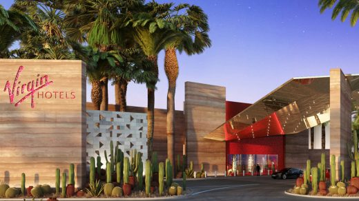 Virgin Hotels Las Vegas, Curio Collection by Hilton, Debuts in Las Vegas