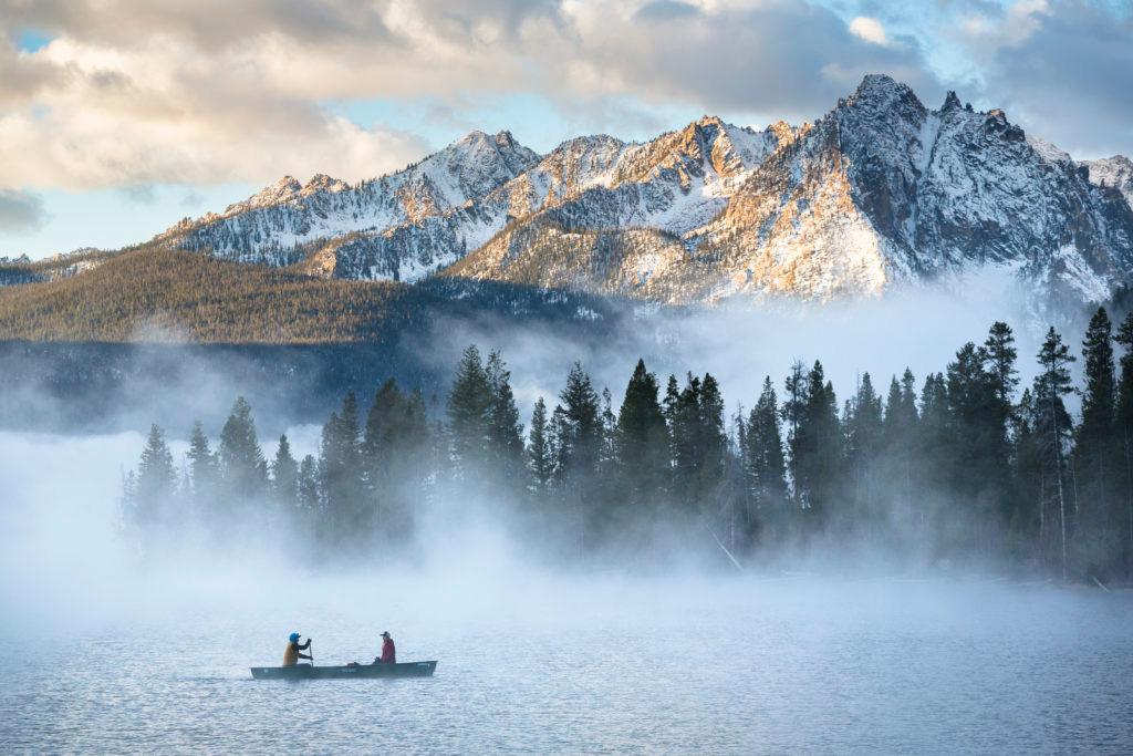 Canoeing in Idaho