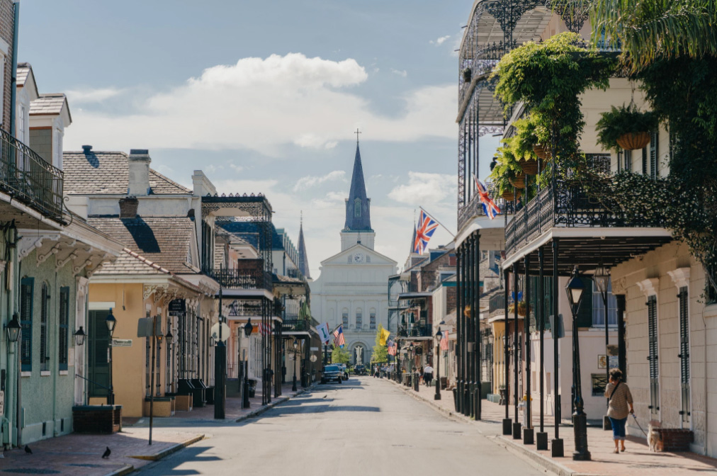 French Quarter by Paul Broussard
