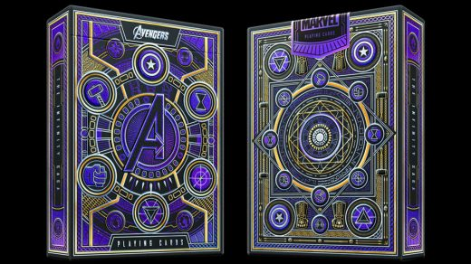 Avengers Playing Cards Review