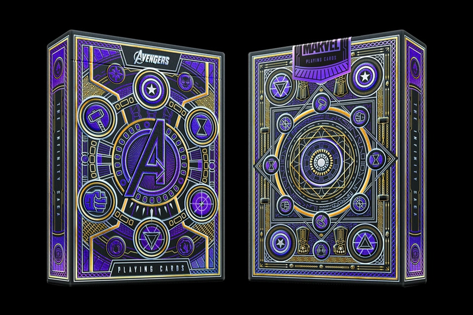 Unboxing Theory 11's Avengers Playing Cards - review