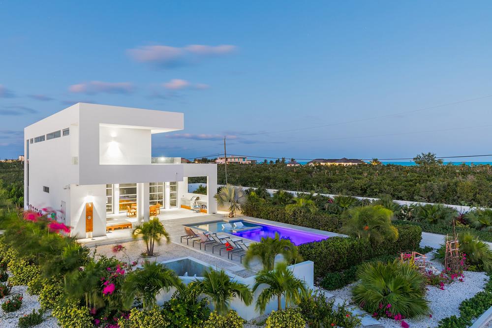 Villa exterior at White Villas