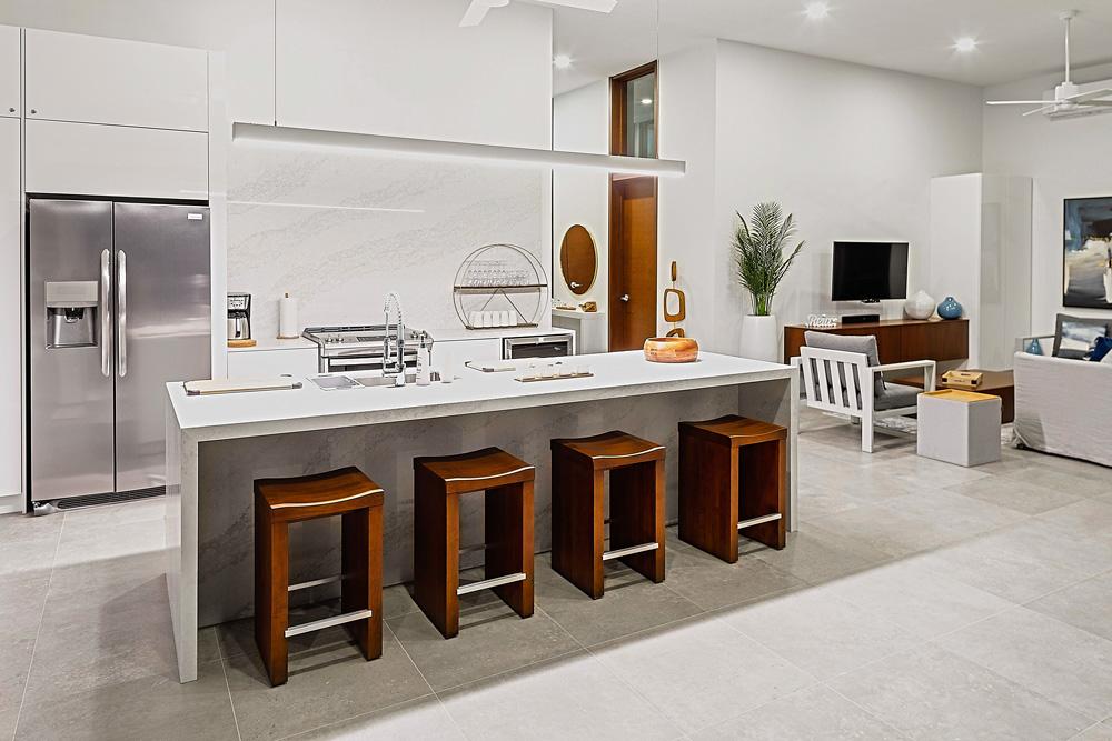 Villa Kitchen - White Villas Turks and Caicos