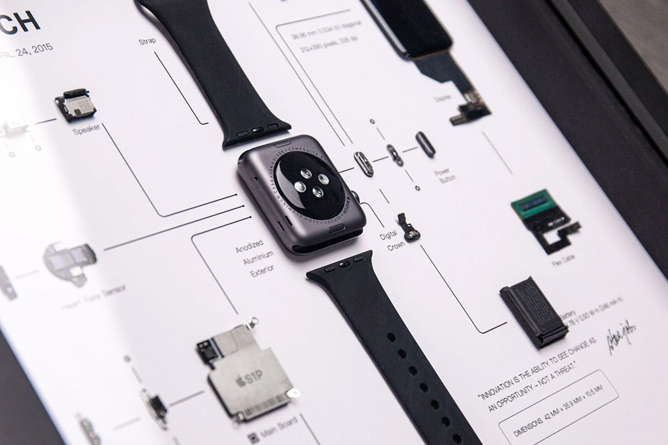 Grid Studio Apple Watch framed art