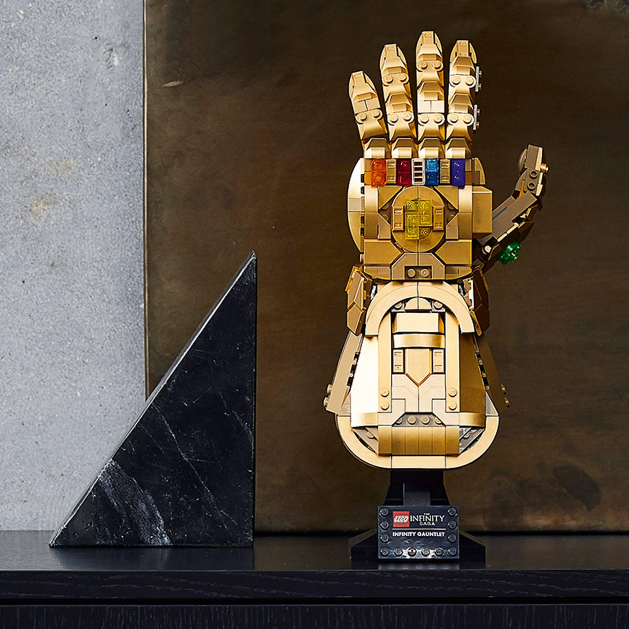 Infinity Gauntlet made of LEGO