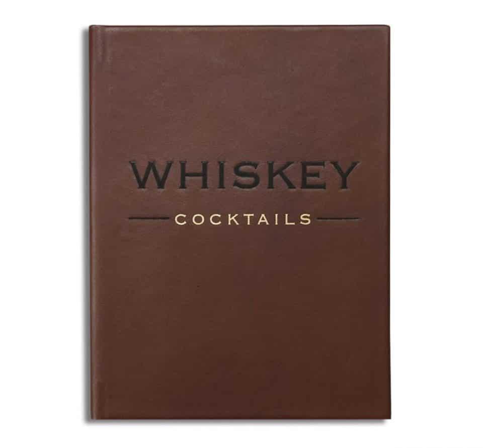 Hardbound Whiskey Cocktails Book