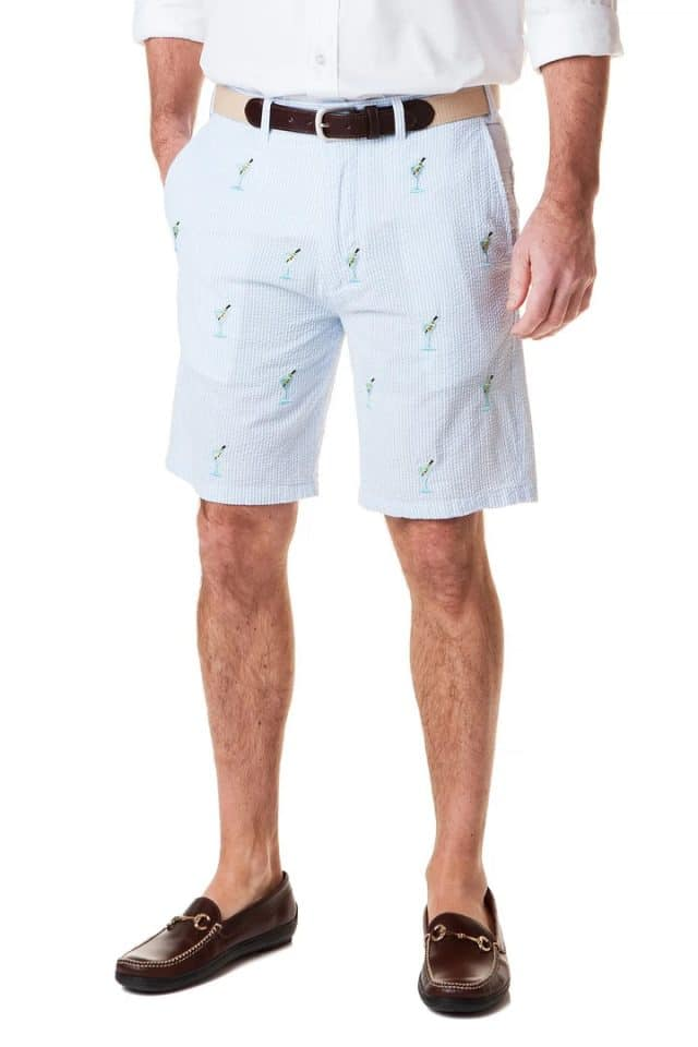 Martini Embroidered shorts from Castaway Nantucket