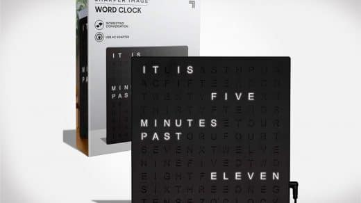 Sharper Image Word Clock