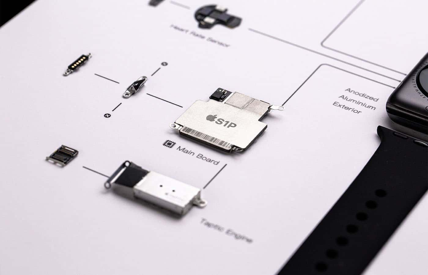 What's inside of an Apple Watch?