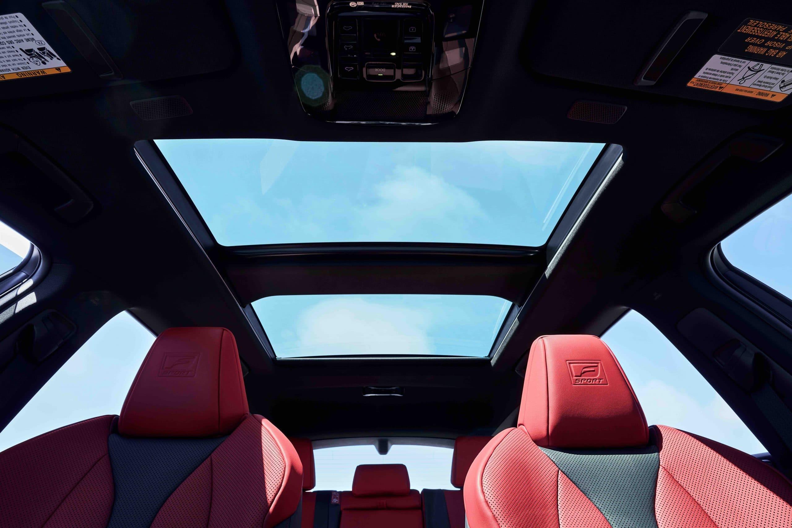 2022 Lexus NX 350 F SPORT sunroof