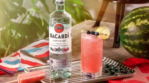 BACARDÍ Summer Watermelon Cooler Recipe