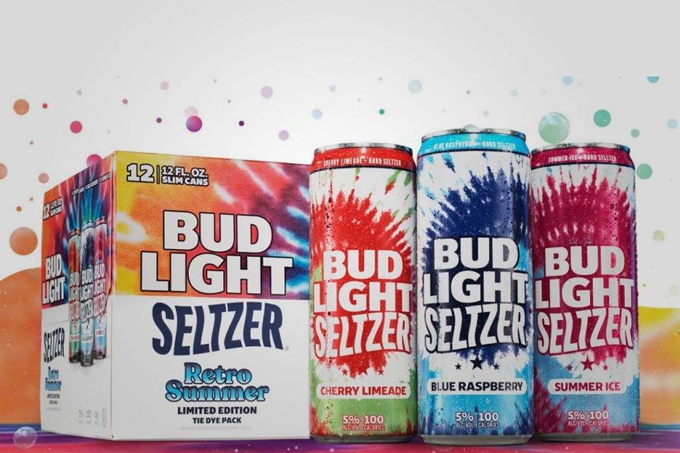 Bud light Seltzer Retro Summer Tie Dye Pack
