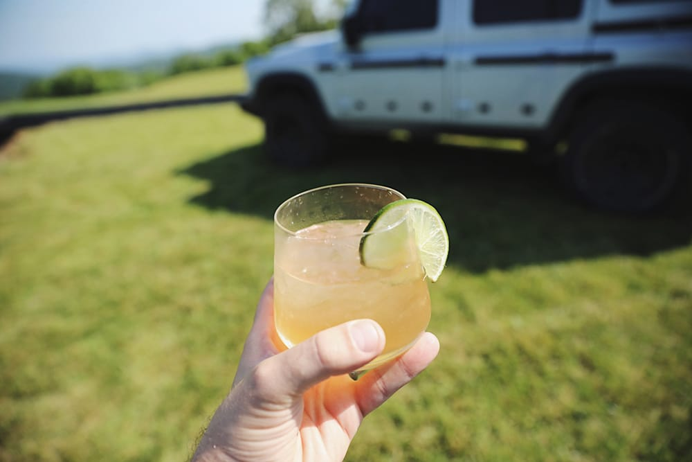 Lost Whiskey Distillery Mule Cocktail