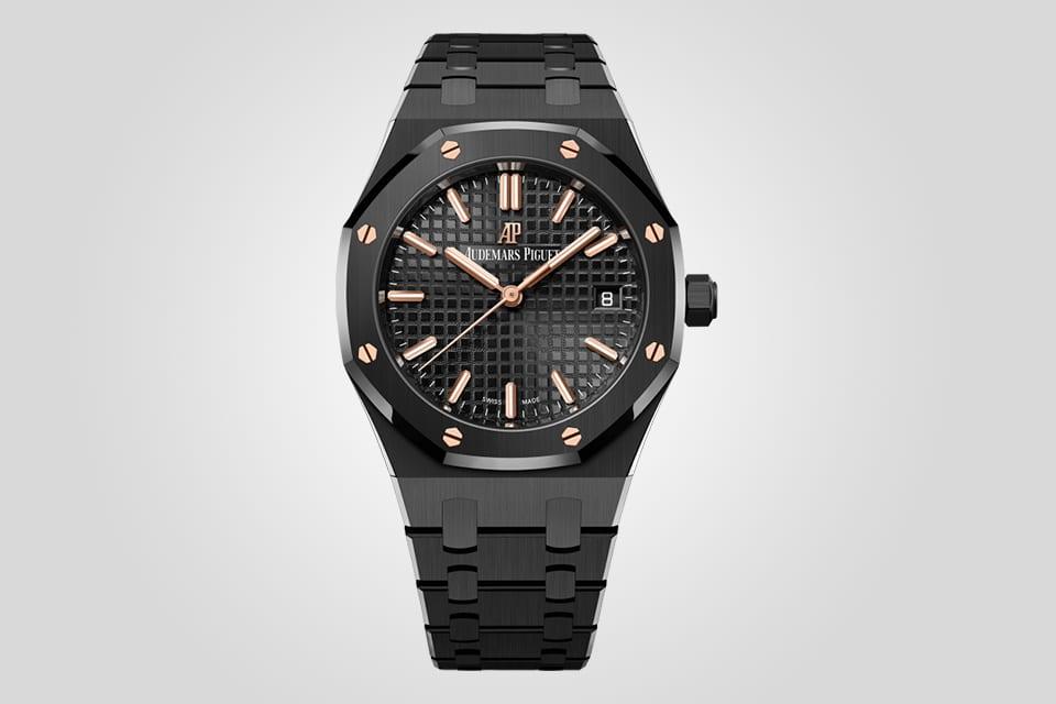 Audemars Piguet Royal Oak 34 Black Ceramic Watch