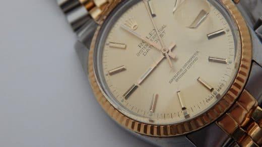 Gold Rolex Datejust