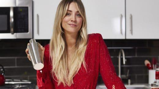 Kaley Cuoco's favorite cocktail recipe