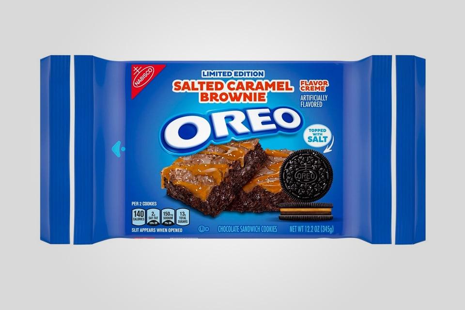 Oreo Salted Caramel Brownie Flavor