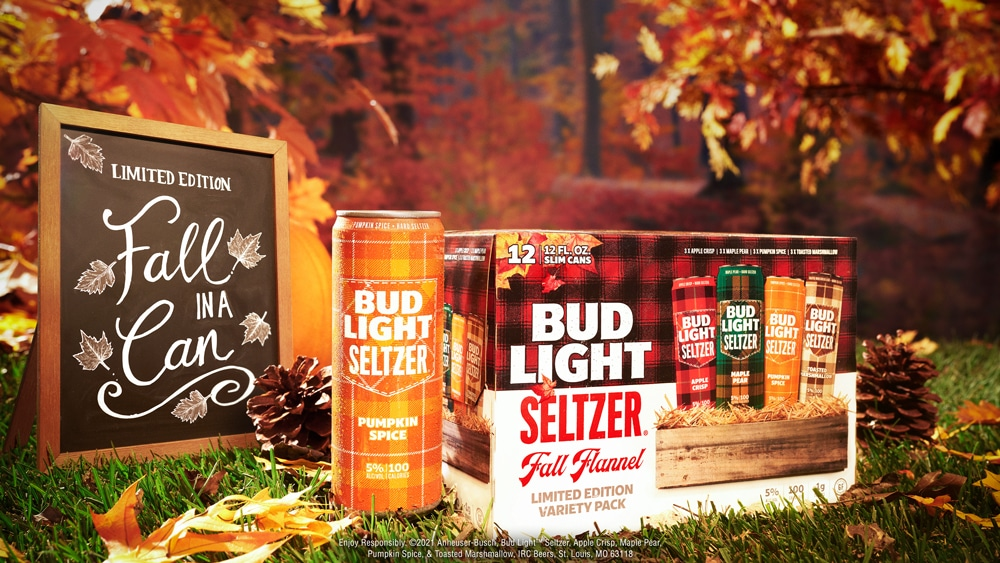 Bud Light Seltzer Fall Flannel Variety Pack
