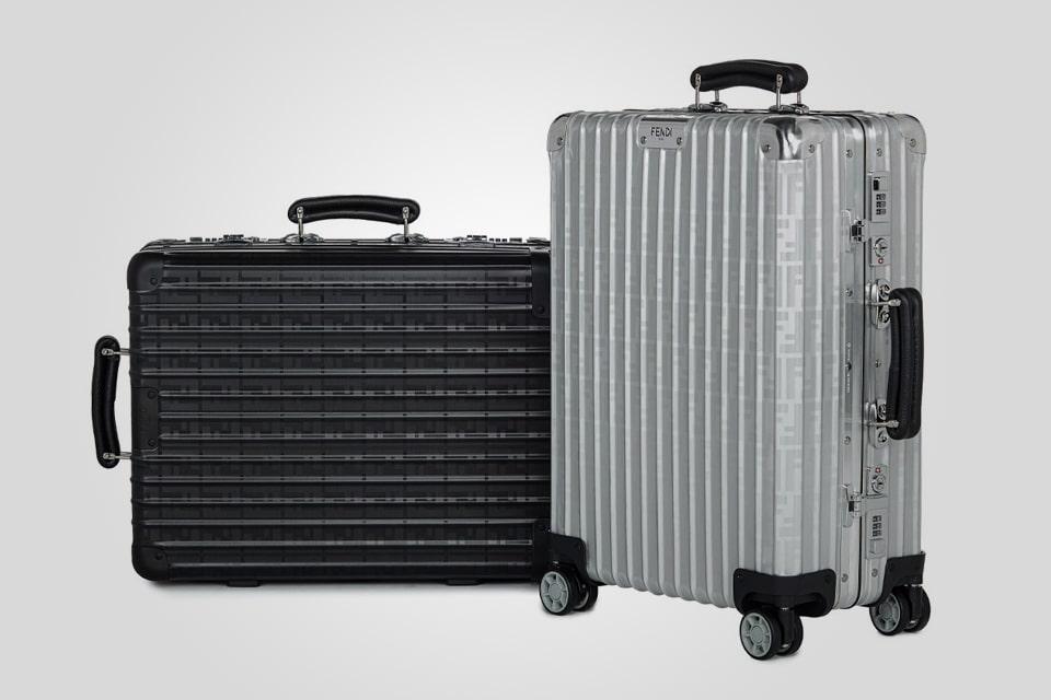 Fendi x Rimowa Exclusive Suitcase Collaboration