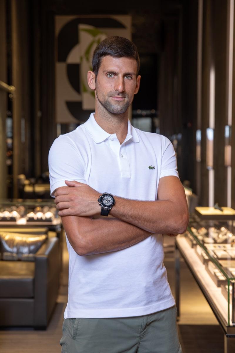 Novak Djokovic joins Hublot as ambassador