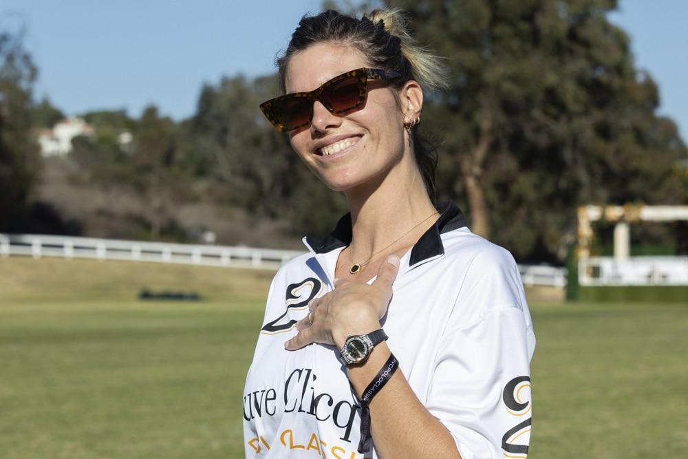 Delfina Blaquier at Veuve Clicquot Polo Classic
