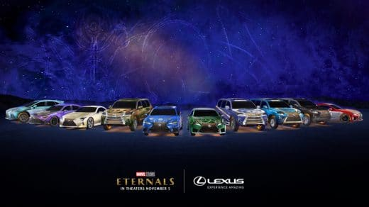 Eternals Lexus Cars