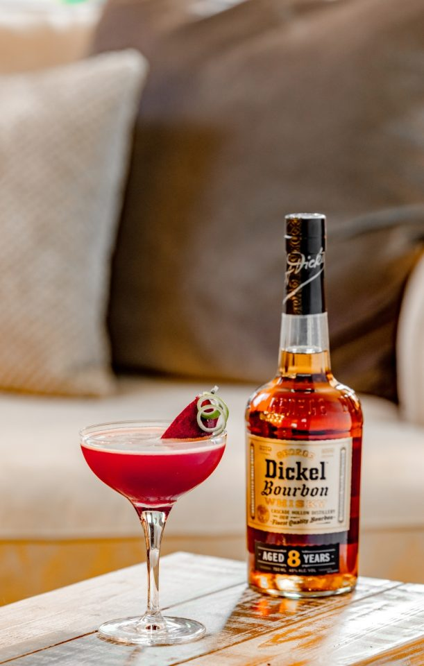 George Dickel Bourbon Recipes - Tennessee Rose