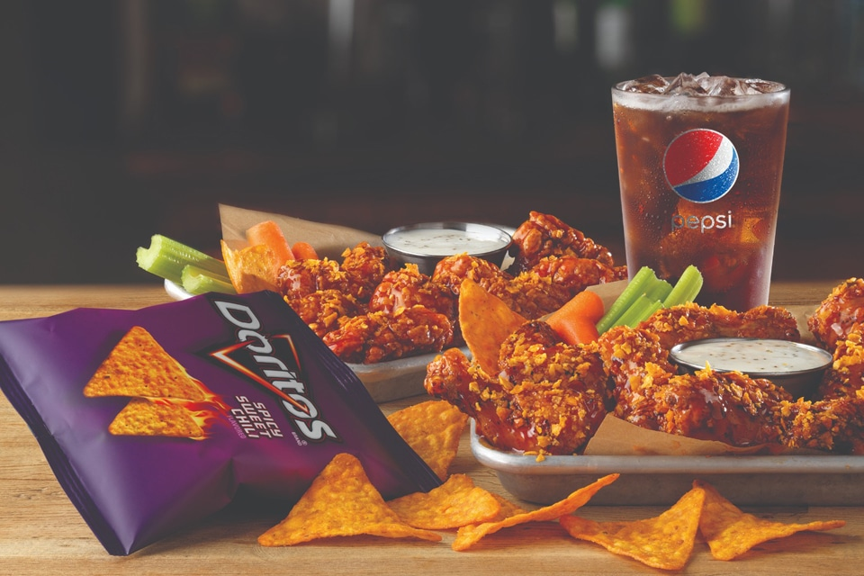 Buffalo Wild Wings Adds New Doritos Spicy Sweet Chili Flavored Sauce for Limited Time