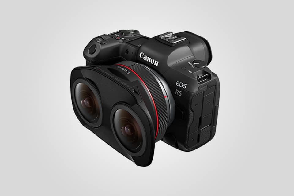 Canon Dual Fisheye 3D VR Camera Lens