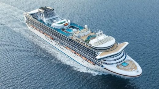 Princess Cruises' Ship Relaunches For February, March, and April of 2022.